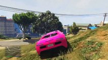 GTA 5 Funny Moments EPIC MLG Driver, Crazy Jumps and Backflip Stunts GTA Online Funny Moments