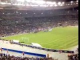 le stade de paris   (france vs grece)