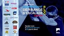 Championnat de France d'escalade de bloc / Demi-finales (REPLAY)