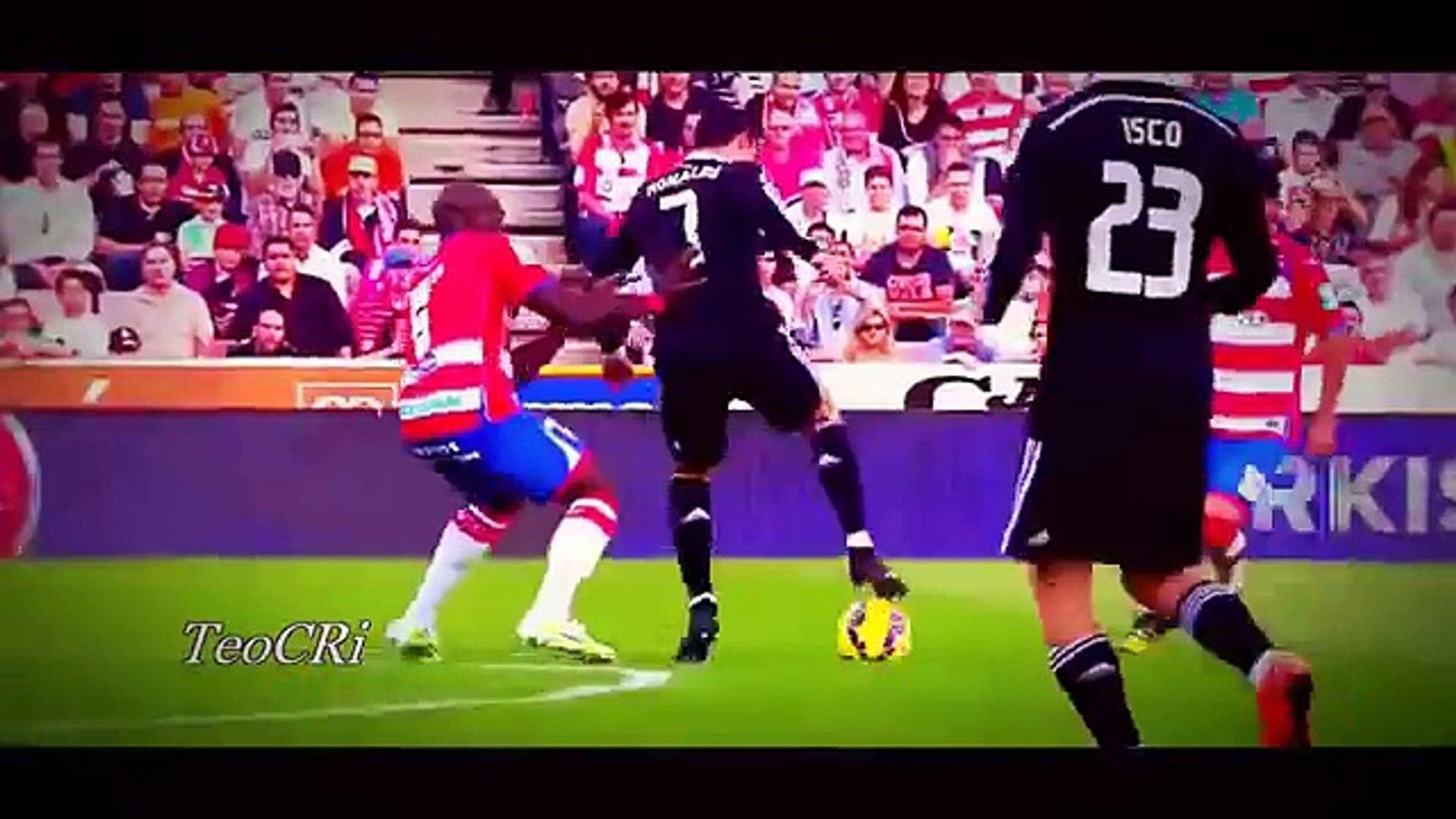 Cristiano Ronaldo Vs leona messi (crazy skills)