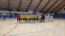 Victoire Leader D1 CONTRE Roubaix Futsal : 28/03/2015 Coupe nationale de Futsal !!!...