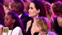 Angelina Jolie Wins Best Villain Award with Daughters At Kids Choice Awards 2015
