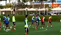Algérie vs Oman - séance d'entrainement de l'équipe nationale algérienne