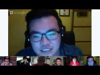 Trolling on Google Hangout - JinnyBoyTV Hangout 1