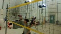 beach volley toulousain session entraînement