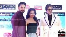 Aishwarya Rai Bachchan, Abhishek Bachchan, Amitabh Bachchan   HT Mumbai's Most Stylish Awards 2015