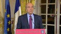 """Départementales : Juppé salue """"la victoire de l'alliance de l'UMP, de l'UDI et du MoDem"""""""
