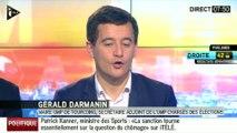 """Gérald Darmanin : """"C'est la continuité de la défaite des municipales"""""""