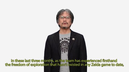 Wii U - The Legend of Zelda Development Update – 3 27 2015 de