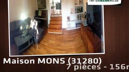 A vendre - MONS (31280) - 7 pièces - 156m²