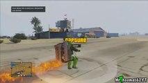 GTA 5 Online JETPACK MOD! (GTA 5 Grand Theft Auto Best Mods Cheats Gameplay)