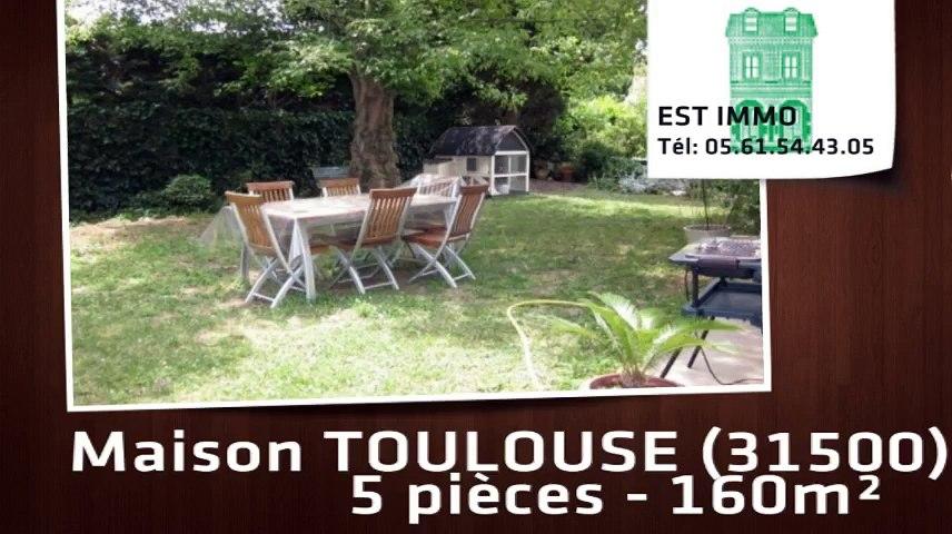 A vendre - TOULOUSE (31500) - 5 pièces - 160m²