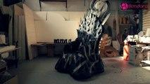 Gode of Thrones - le trône de fer avec des godemichets