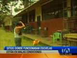 Instalaciones donde funcionaba escuela está en malas condiciones