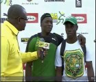 Interview With Boys Open Javelin Gold & Bronze Medalists  - Champs 2015