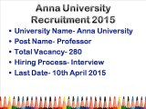 Teachers Recruitment 2015 (Employment News For Latest Jobs Onlin