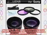 Lens Accessory Kit For Sony a7 a7R a7K a55 a33 a35 SLT-A55 SLT-A33 SLT-A35 A65 SLT-A65V SLT-A57