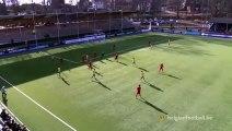 Superbe lob du milieu de terrain d'un U19 belge contre les suédois !