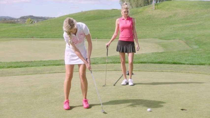 The Sexiest Shots in Golf - Kelly Rohrbach & Blair O'Neal on Putting Inside an Opponent