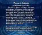 Roma - Camera - 17^ Legislatura - 400^ seduta (26.03.15)