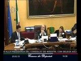 Roma - Politiche Ue in Italia, audizione Sottosegretario Gozi (25.03.15)