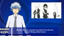 Naruto, Boruto, Sarada Unveiled From Naruto Spinoff Manga Mini-Series