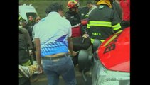 12 personas resultaron heridas en accidentes de tránsito este fin de semana en Quito