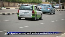Nigerians anxiously await results of presidential election
