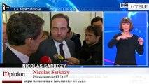 """TextO' : Nicolas Sarkozy : """"Cette stratégie de l'union a été plébiscitée"""""""