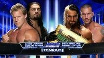 Chris Jericho & Roman Reigns vs Randy Orton & Seth Rollins | SmackDown ESPAÑOL LATINO HD