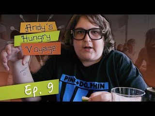 Andy Milonakis Tries Seafood in Denmark! - Andy's Hungry Voyage | Ep 9