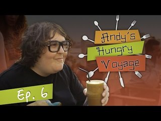Andy Milonakis Visits 2 Greek Restaurants - Andy's Hungry Voyage | Ep 6