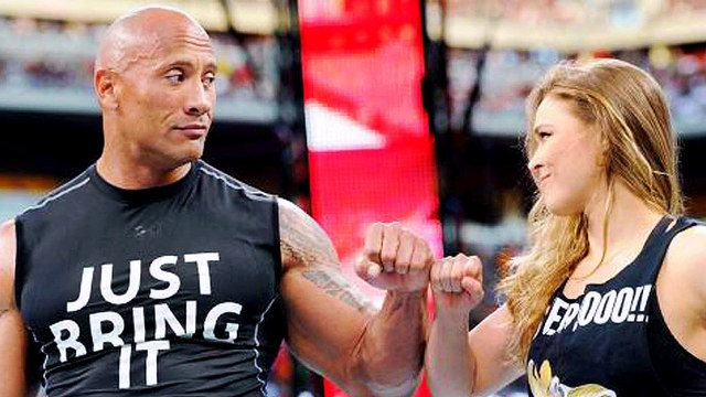 Ronda Rousey Makes Surprise Appearance at WrestleMania, Lays the Smack Down