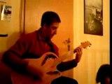tit bout de guitare improvisé