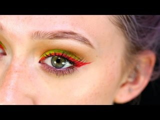 Talk Through Tutorial: Bright Eyes & Red Lips