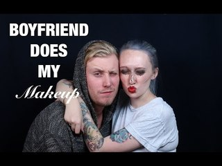 Boyfriend Does My Makeup (FINALLY!!!)- JkissaMakeup