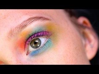 Water Color Eyeshadow Tutorial - Sugarpill Cosmetics