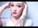 Golden Sunset Eye With Bright Bold Lips Look: MAC Cosmetics & Coloured Raine Makeup Tutorial