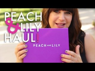 Peach and Lily Haul! | Jamie Makeup Greenberg