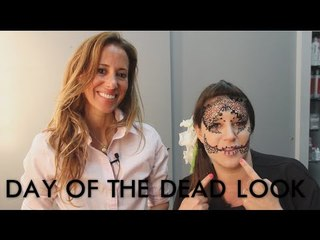 Easy Day of the Dead look for Halloween! | Jamie Greenberg Makeup