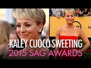 Kaley Cuoco - SAG Awards 2015  | Jamie Greenberg Makeup Artist