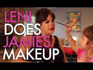 My Daughter Does My Makeup! | Jamie Greenberg Makeup