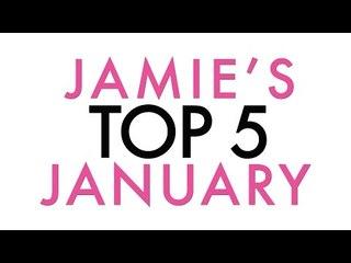 Favorite Top Five for January (DISCOUNT CODE) | Jamie Greenberg Makeup