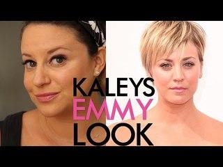 Kaley Cuoco's Emmy Red Carpet Makeup | Jamie Greenberg Makeup