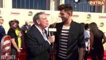 Elvis Duran Interview with Adam Lambert on iHeartRadio Awards Red Carpet