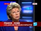 FRANCE 24 L'Entretien - Entretien exclusif France 24 avec Viviane Reding