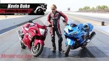 Hypersport Shootout: 2012 Kawasaki ZX-14R vs. 2012 Suzuki Hayabusa LE