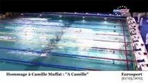 «A Camille» : l'hommage à la nageuse regrettée, Camille Muffat