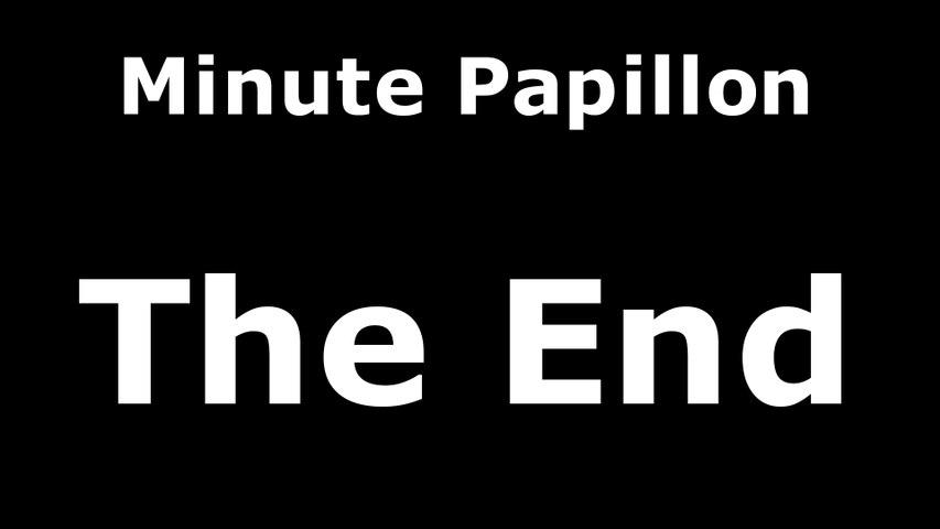 Minute Papillon - The End