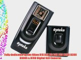 Opteka RFT-40 Remote Shutter Release and Wireless Flash/Light Trigger Combo